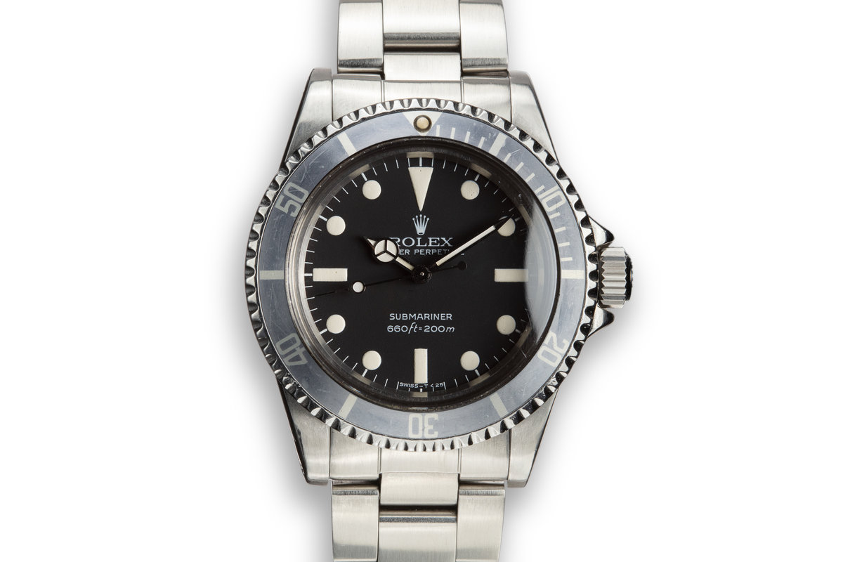 1981 Rolex Submariner 5513 with MK 2 Maxi Dial photo, #0