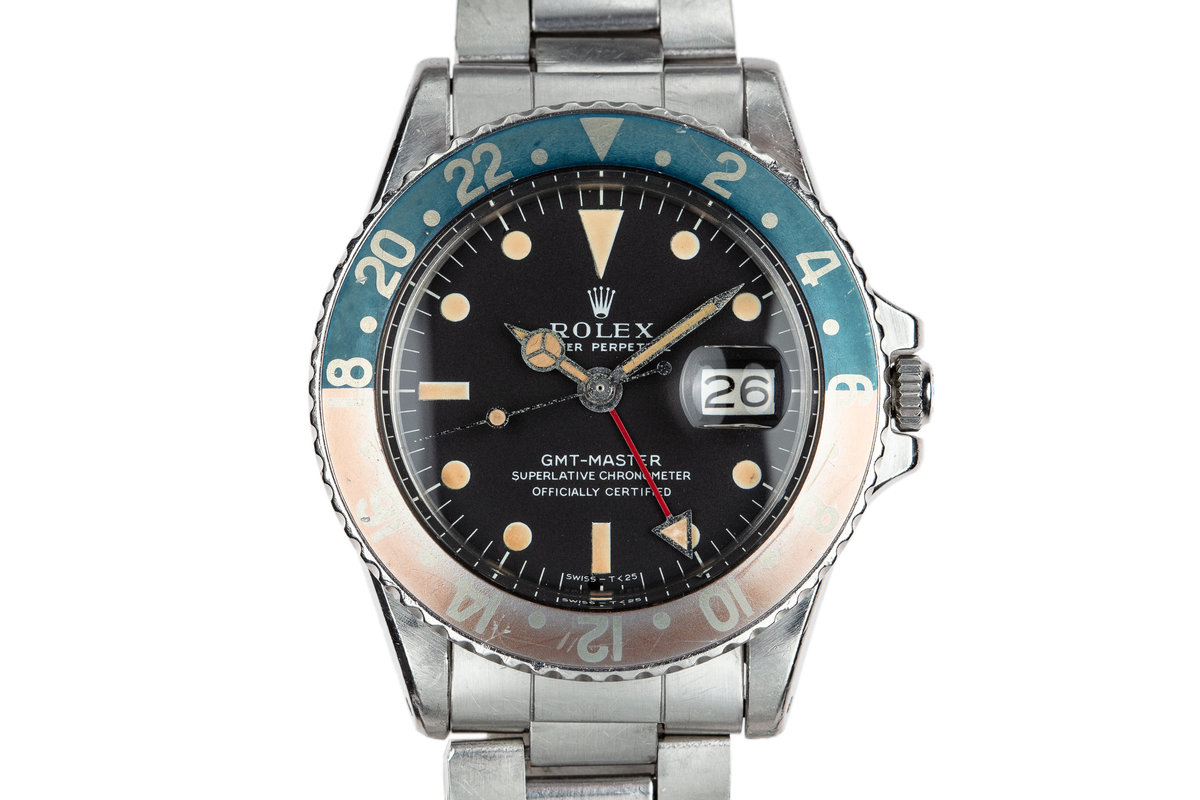1970 Rolex GMT-Master 1675 given to Captain Eichhorst in 1973 photo, #0