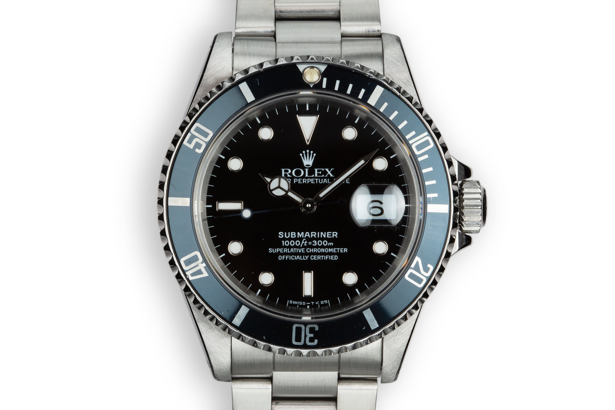 1990 Rolex Submariner 16610 photo, #0