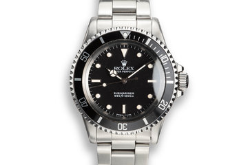 1986 Rolex Submariner 5513 Glossy Dial photo