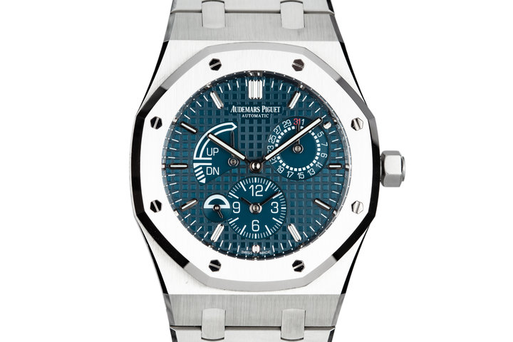 2017 Audemars Piguet Royal Oak 26124ST.00.DO18CR.01 Blue Dial with Box and Papers photo