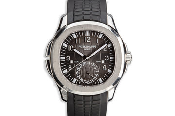 2016 Patek Philippe Aquanaut 5164A-001 Travel Time photo