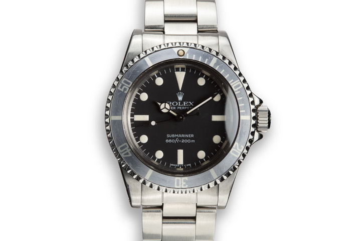 1981 Rolex Submariner 5513 with MK 2 Maxi Dial photo