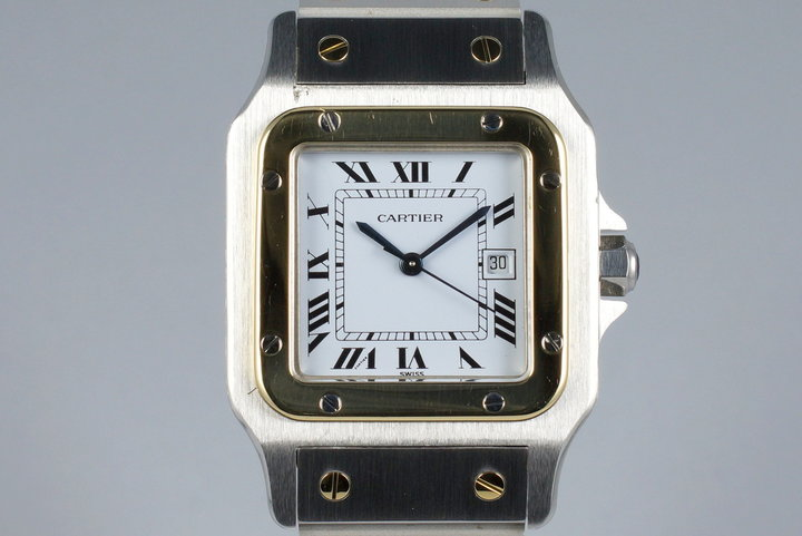 Cartier Two Tone Santos Automatic photo
