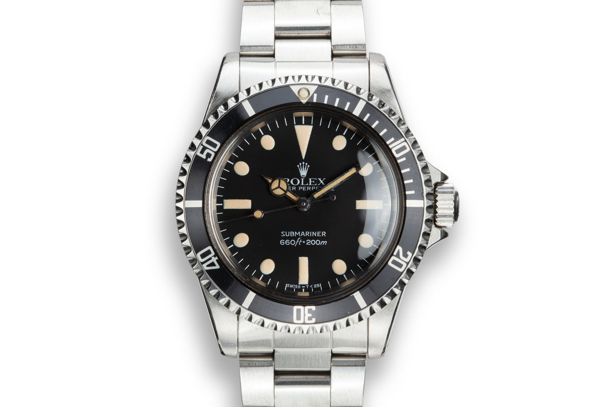 1982 Rolex Submariner 5513 MK IV Maxi Dial photo, #0