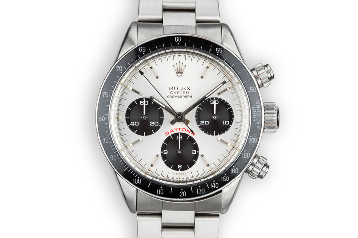 "1980 Rolex Daytona 6263 Silver ""Big Red"" Dial with Papers photo"
