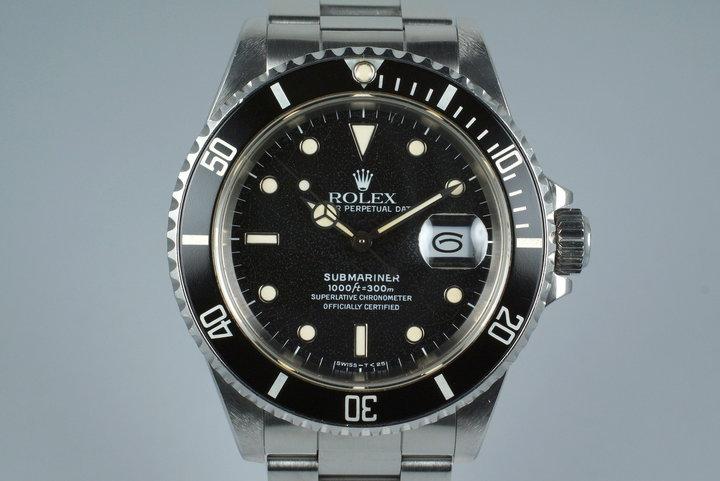 1988 Rolex Submariner 16610 photo