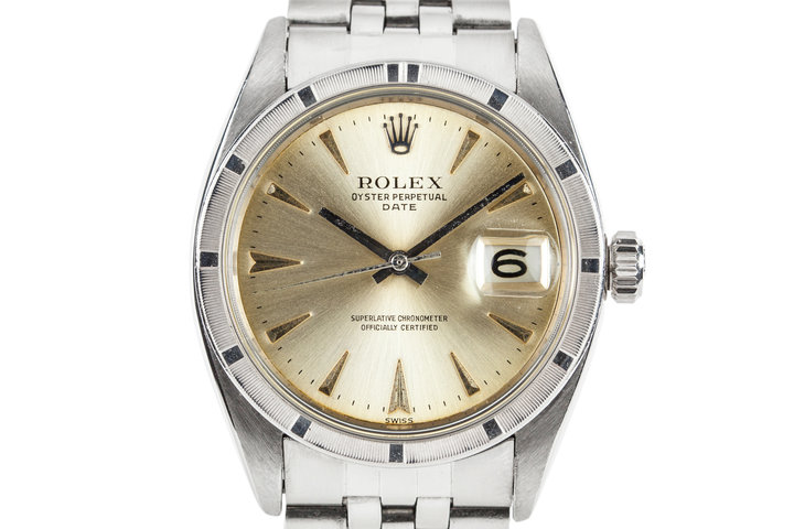 1961 Rolex Date 1501 with Service Papers photo