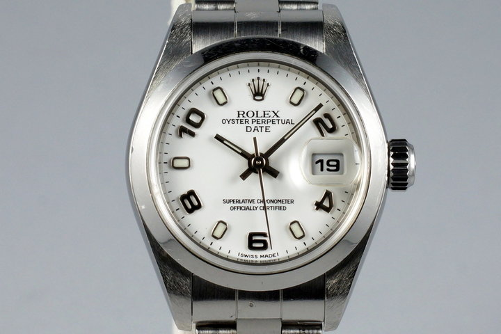 2002 Rolex Ladies Datejust 79160 with Papers photo