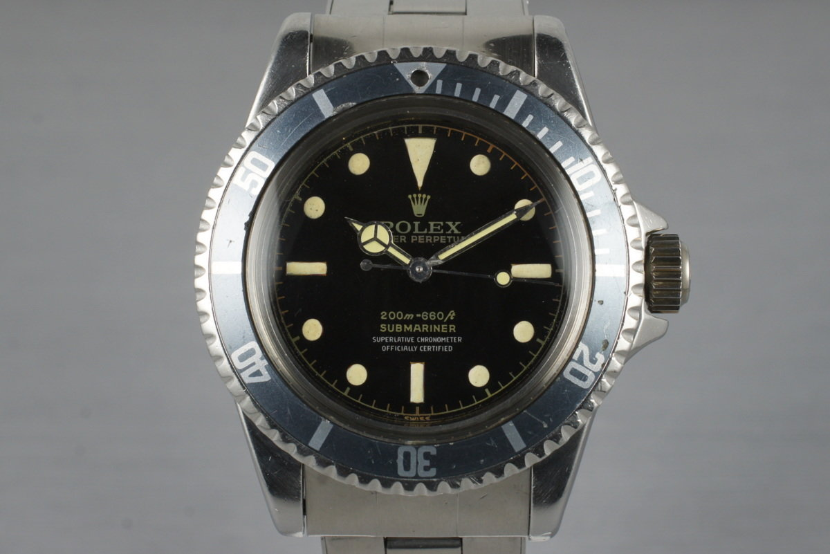 1961 Rolex Submariner 5512 PCG with Glossy Gilt 4 Line Dial photo, #0