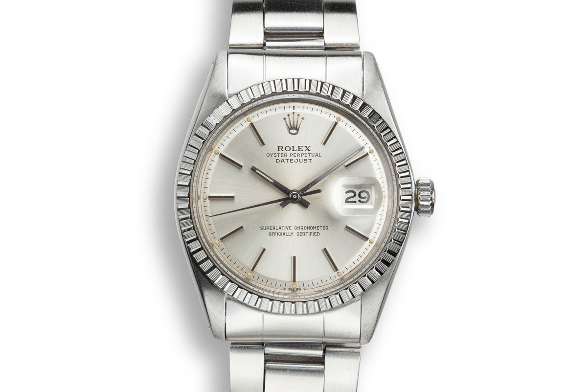 1974 Rolex DateJust 1603 Silver Dial photo, #0