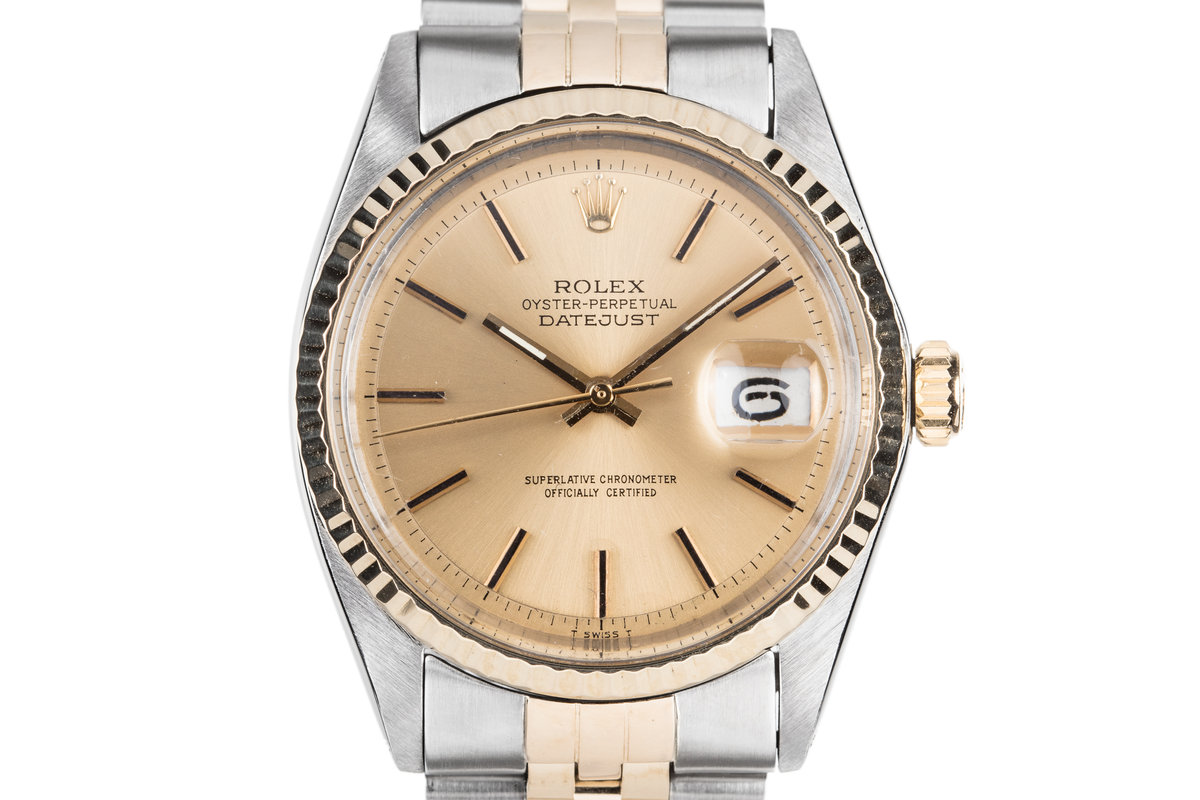 1972 Rolex Two-Tone DateJust 1601 photo, #0