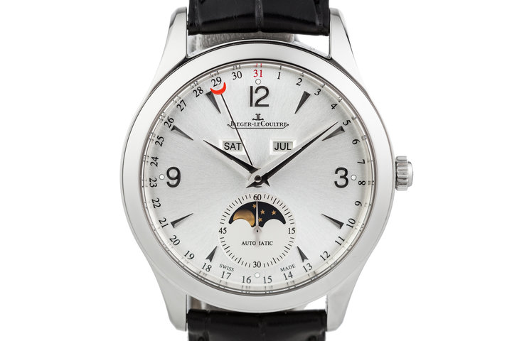 2014 Jaeger-LeCoultre Master Calendar 176.8.12.S with Box and Papers photo