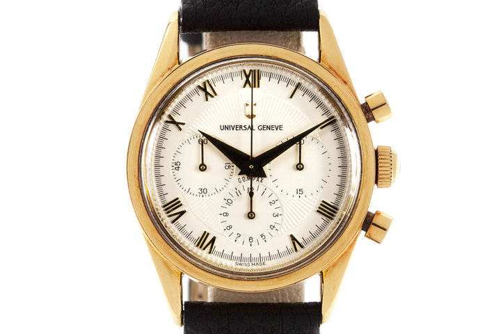 Universal Geneve White Chronograph Dial photo
