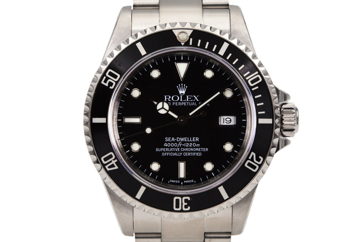 1999 Rolex Sea Dweller 16600 photo, #0