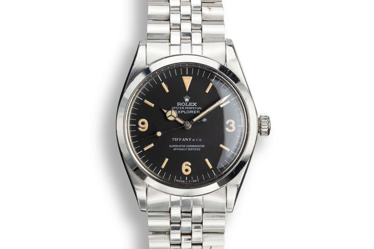 1969 Rolex Explorer 1016 with Tiffany & Co Dial photo, #0