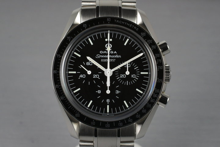 2007 Omega Speedmaster 311.33.42.50.01.001 50th Anniversary Limited Ed. with Box and Papers photo