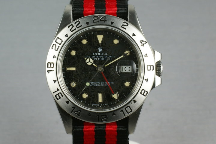 Rolex Explorer II  16550  Black Rail Dial photo