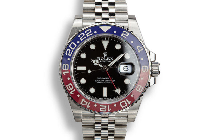 "2018 Rolex GMT-Master II 126710BLRO ""Pepsi"" with Box and Papers photo"