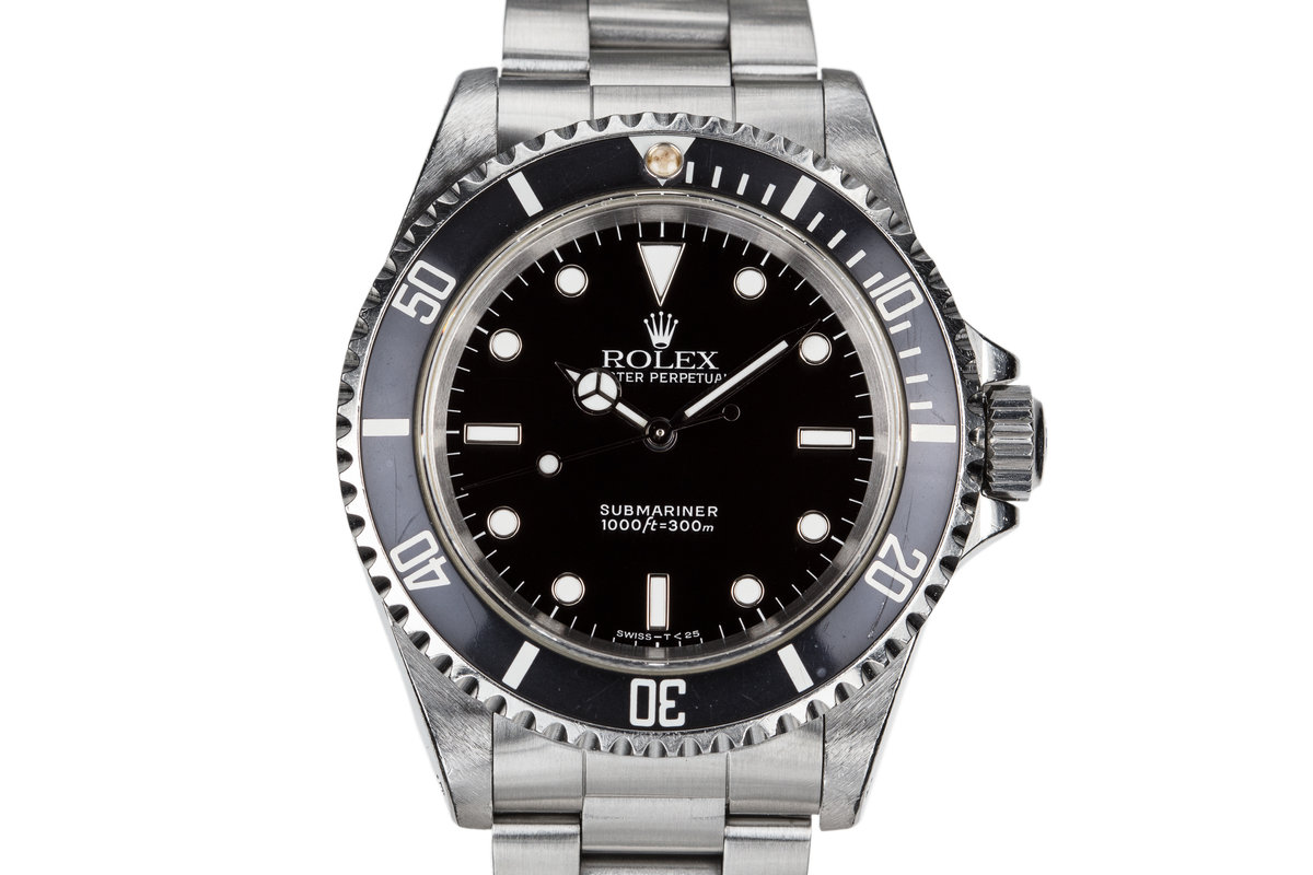 1991 Rolex Submariner 14060 photo, #0