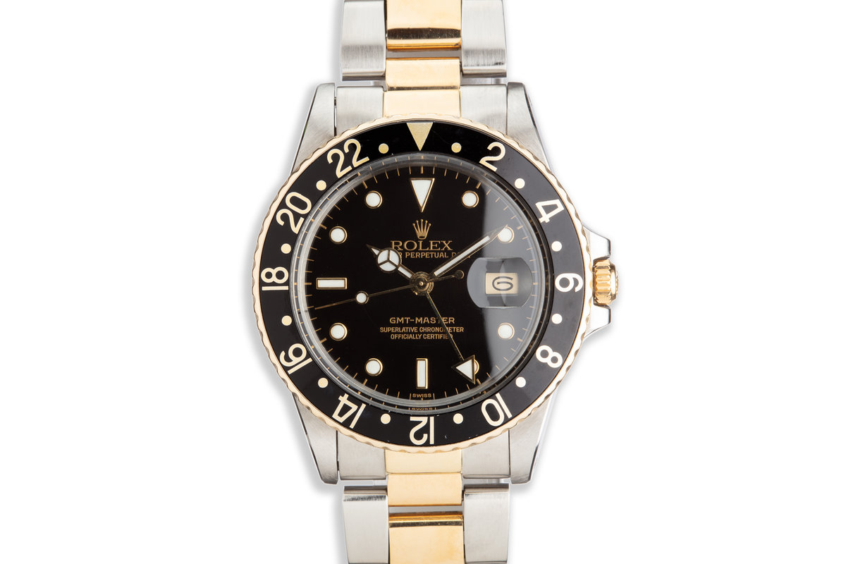 1982 Vintage Rolex Two-Tone GMT-Master 16753 photo, #0