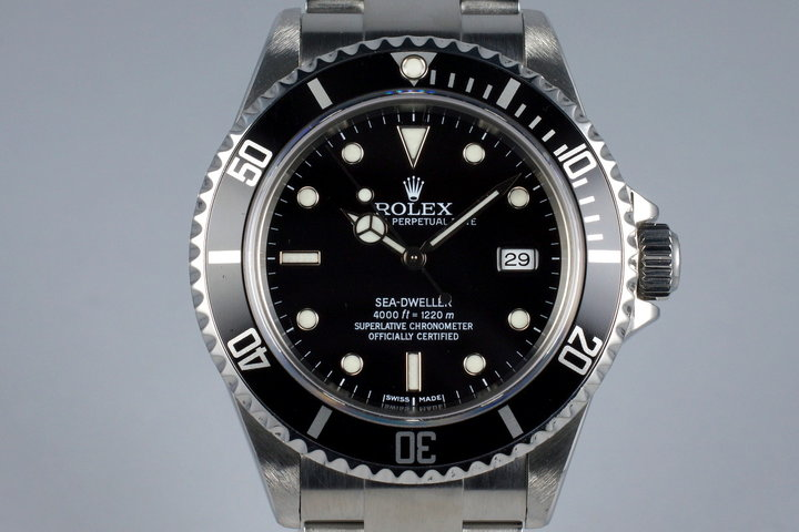 2005 Rolex Sea Dweller 16600 photo
