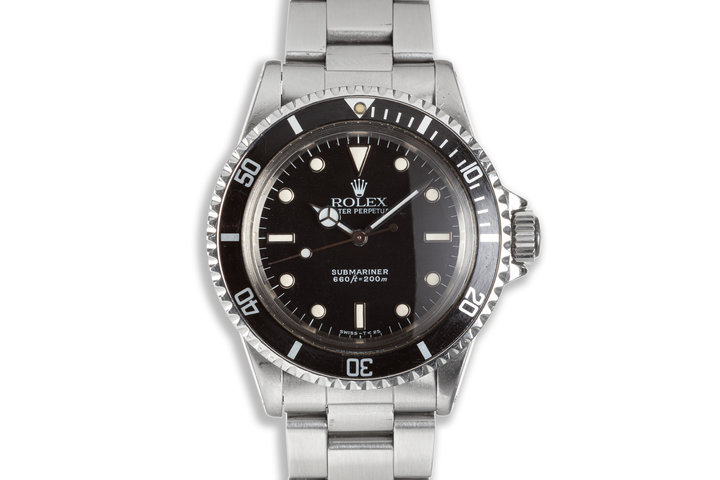 1988 Rolex Submariner 5513 Glossy Dial photo