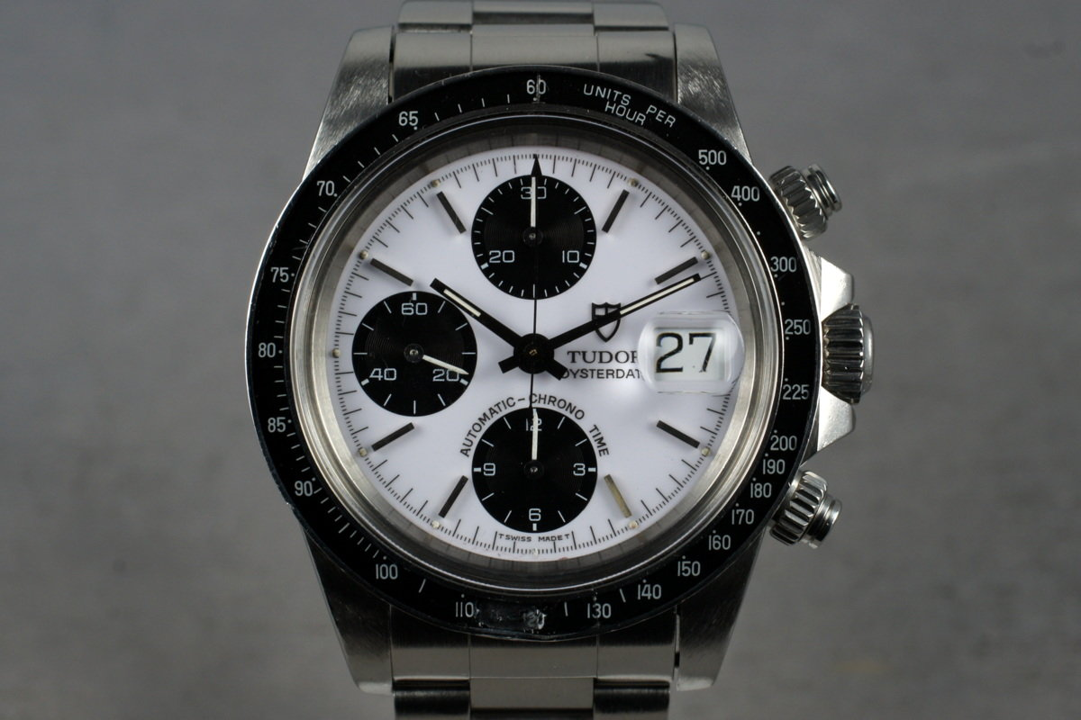 1993 Tudor Chronograph Big Block 79160 with Box and Service Papers photo, #0
