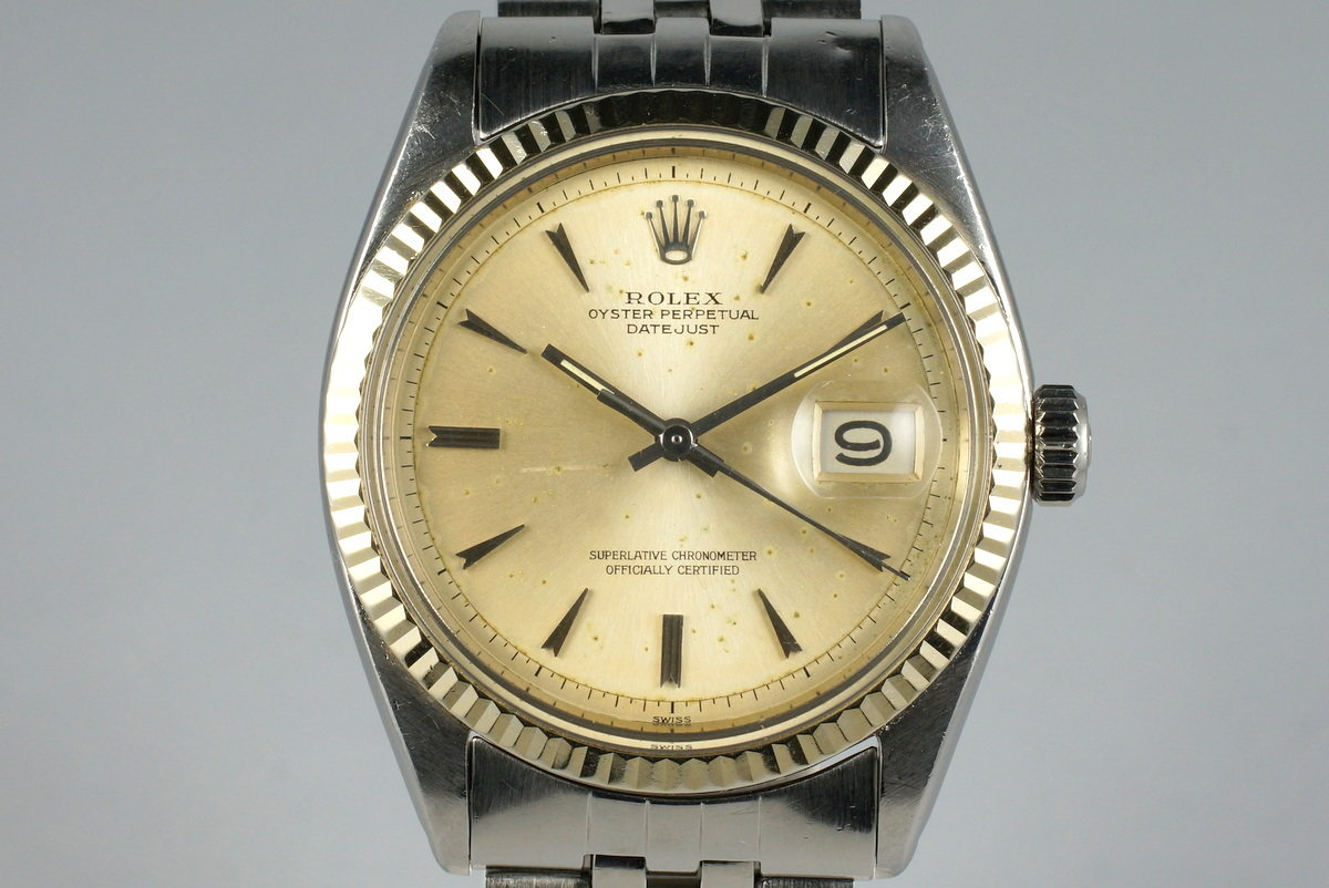 1962 Rolex Datejust 1601 With Non Luminous Dial Photo 0
