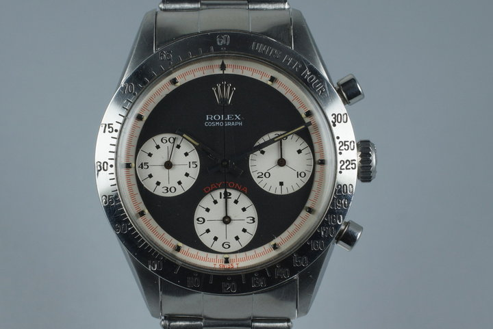 1967 Rolex Daytona 6239 with Black 3 Color Paul Newman Dial photo