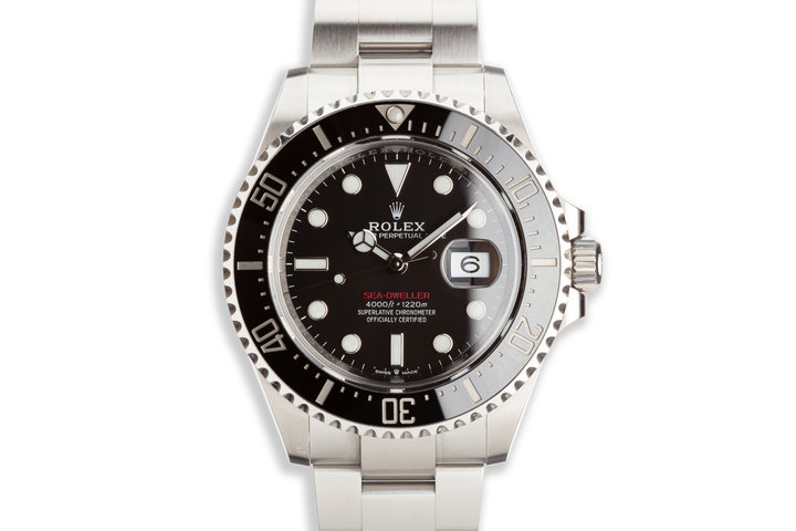 2019 Rolex Red Sea-Dweller 126600 MK 2 Dial with Box and Card photo