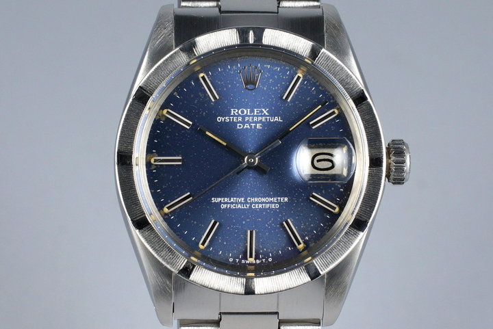 1972 Rolex Date 1501 Blue Sigma Dial photo