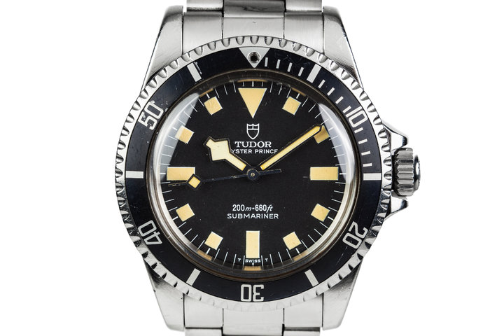 1984 Tudor Submariner 94010 Black Snowflake Dial photo