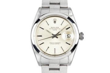 1969 Rolex Date 1500 Silver Dial photo