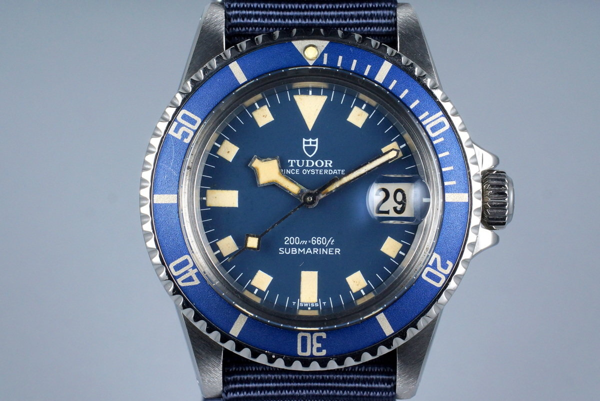 1977 Tudor Submariner R94110 Blue Snowflake photo, #0