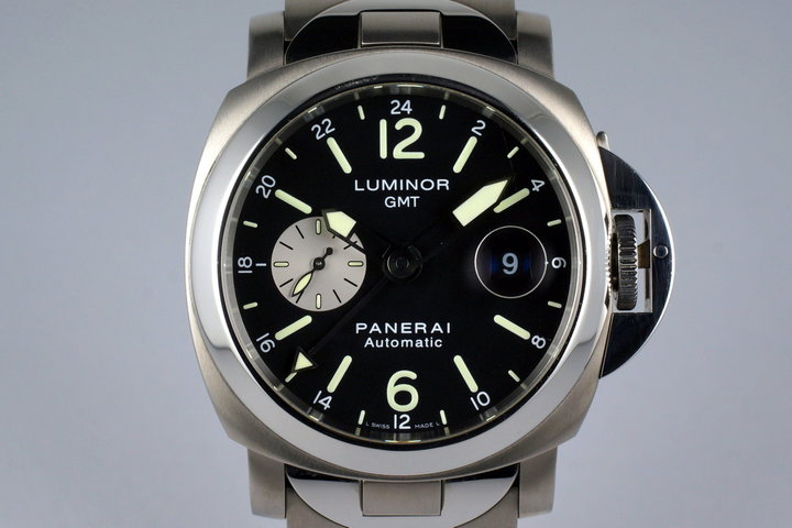 2006 Panerai PAM 161 GMT with Box and Papers photo