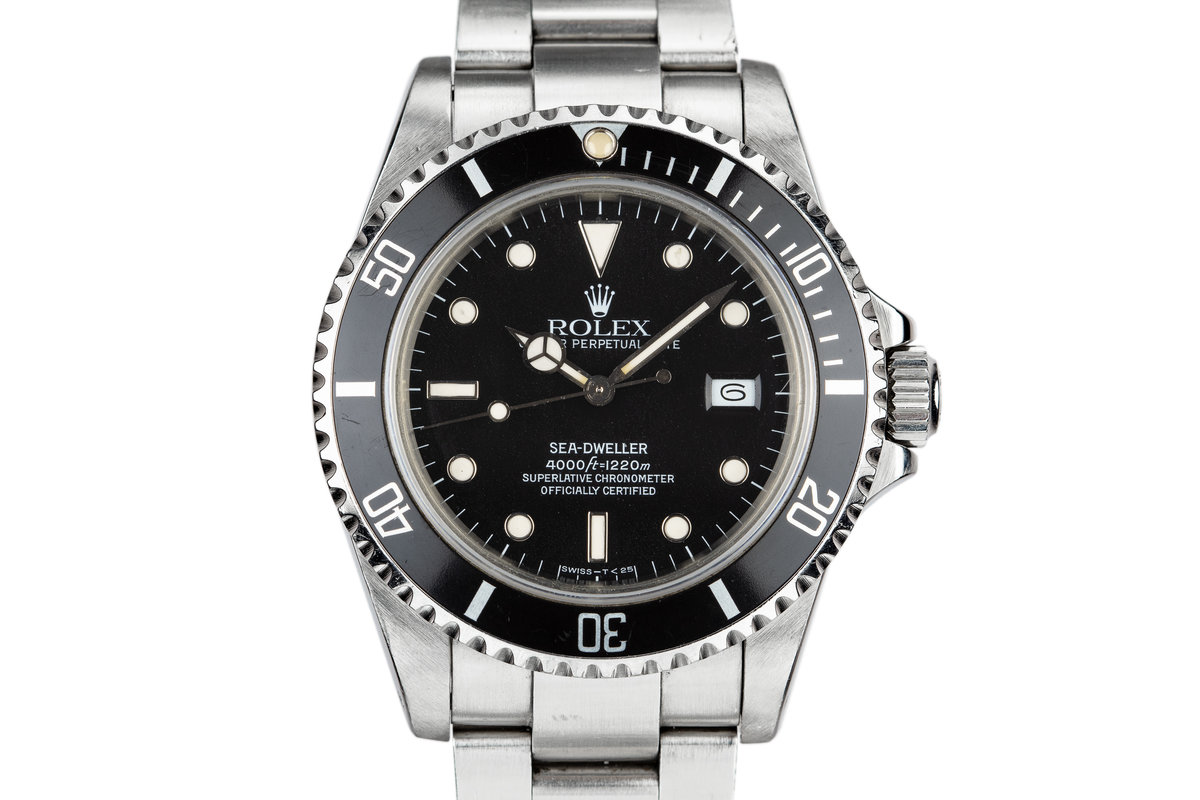 1983 Rolex Sea-Dweller 16660 with Spider Dial photo, #0