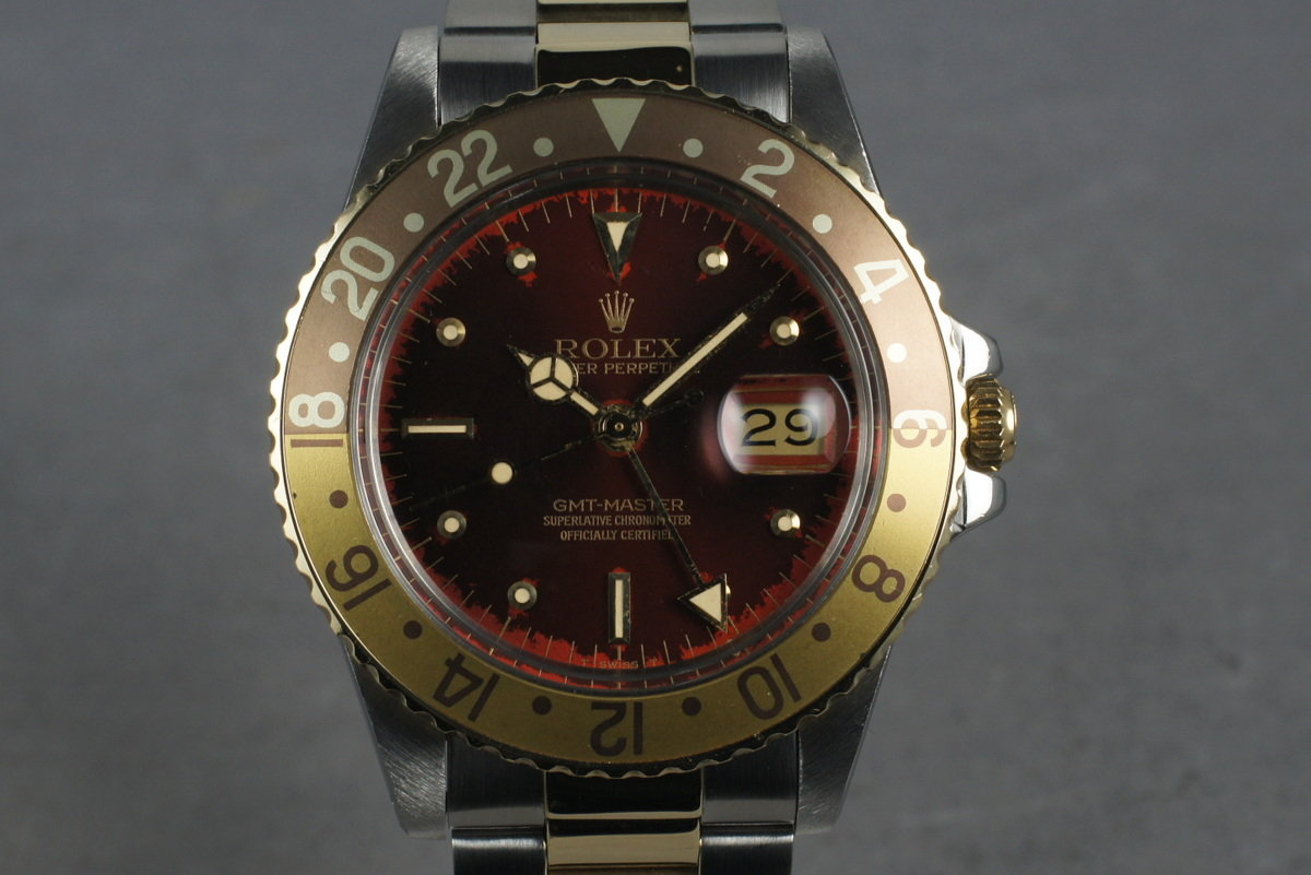 1985 Rolex 18K/SS GMT 16753 photo, #0