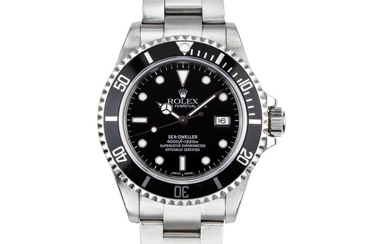 1999 Rolex Sea-Dweller 16600 with Box and Papers photo