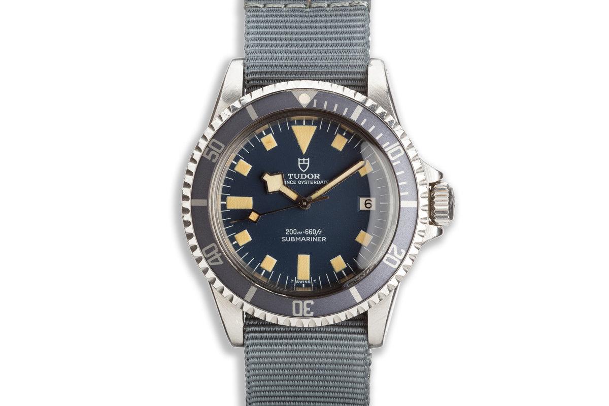1976 Tudor Snowflake Submariner 9411/0 Blue Dial photo, #0