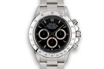 1998 Rolex Zenith Daytona 16520 Black Dial with Box and Papers photo