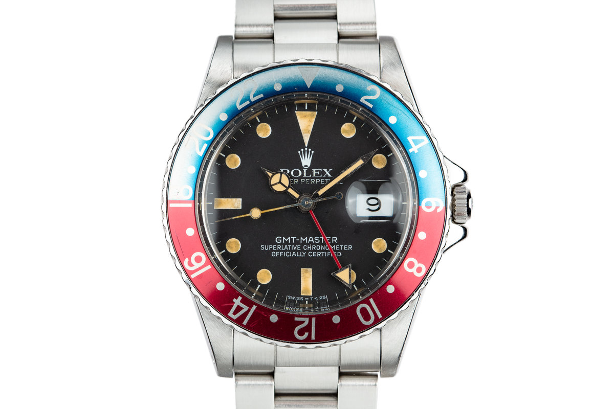 "1981 Rolex GMT-Master 16750 ""Pepsi"" with Box and Papers photo, #0"