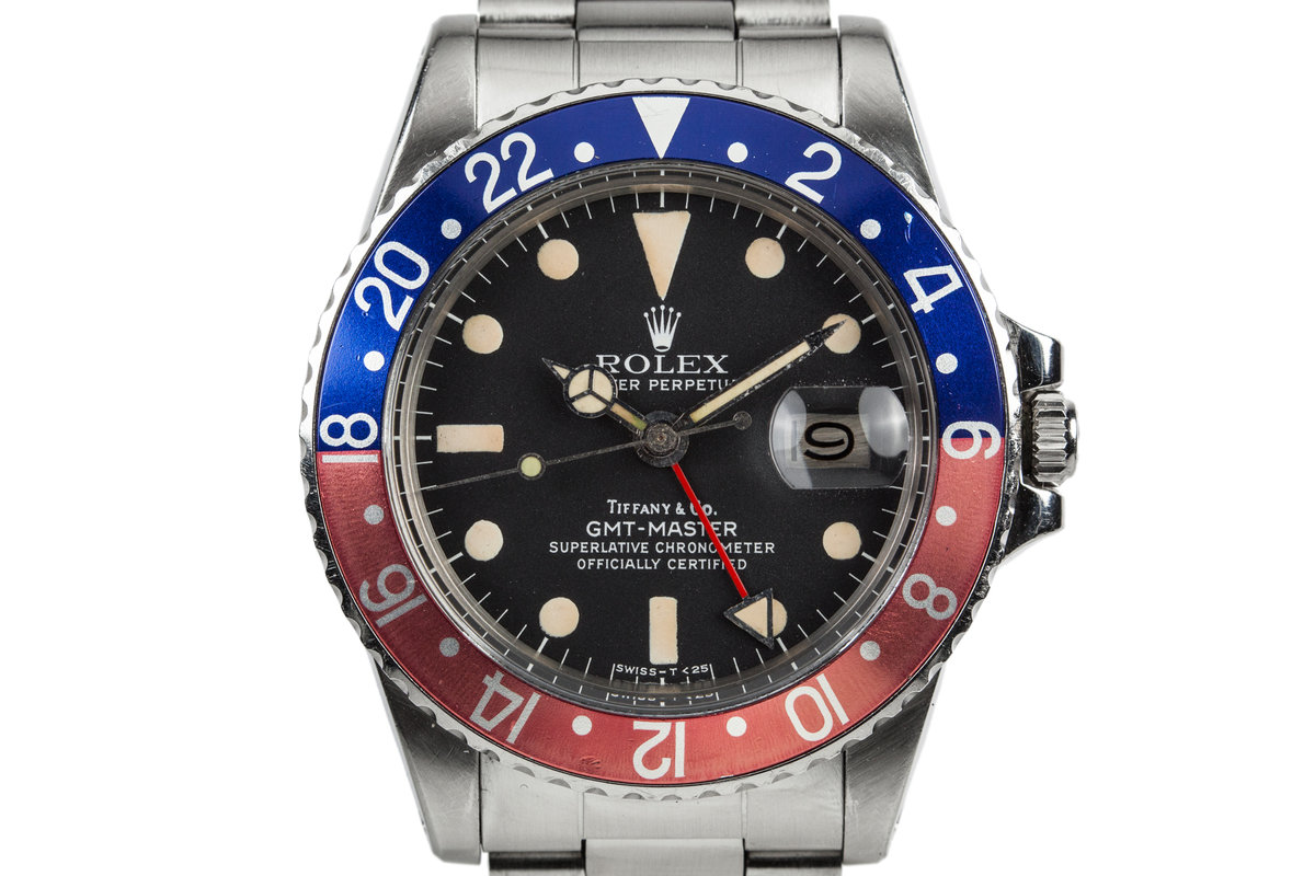 1978 Rolex GMT-Master 1675 with Tiffany & Co Dial photo, #0