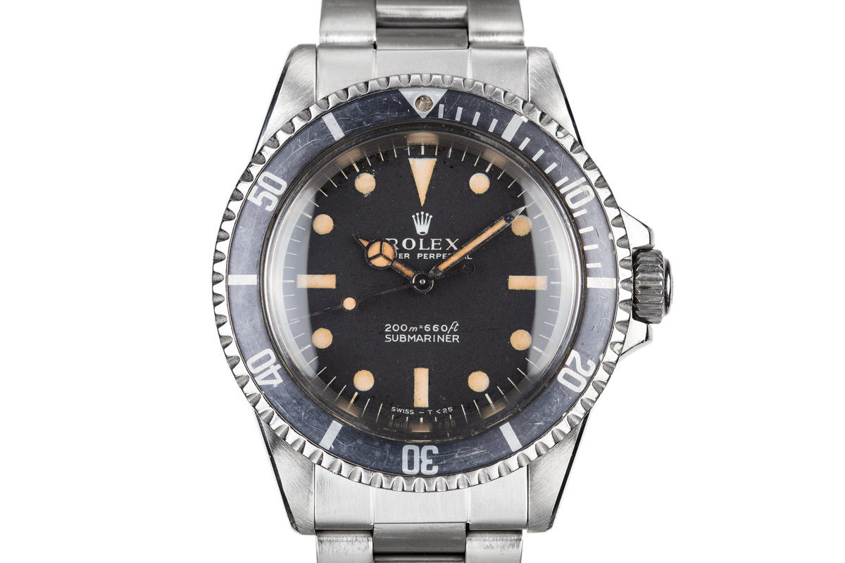 1968 Rolex Submariner 5513 with Meters First Dial photo, #0