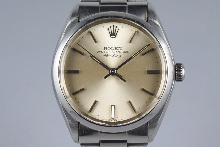1981 Rolex Air-King 5500 with Box and Papers photo