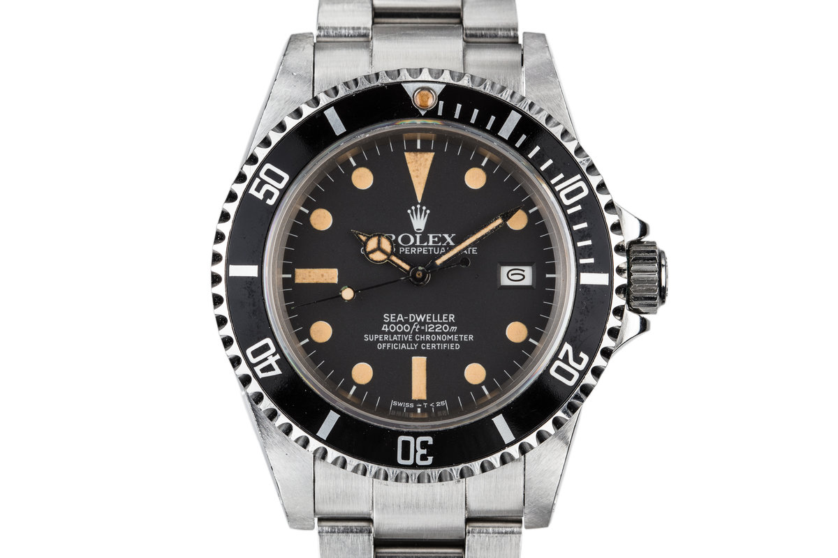 1982 Rolex Sea-Dweller 16660 Matte Dial photo, #0