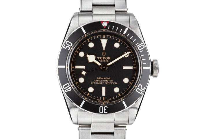 2017 Tudor Heritage Black Bay with Box and Papers photo