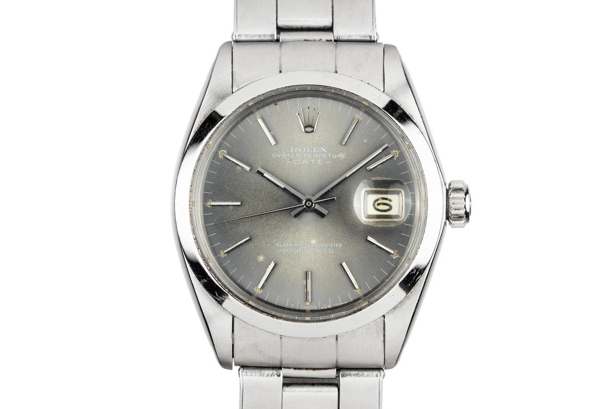 1969 Rolex Date 1500 Grey Dial photo, #0
