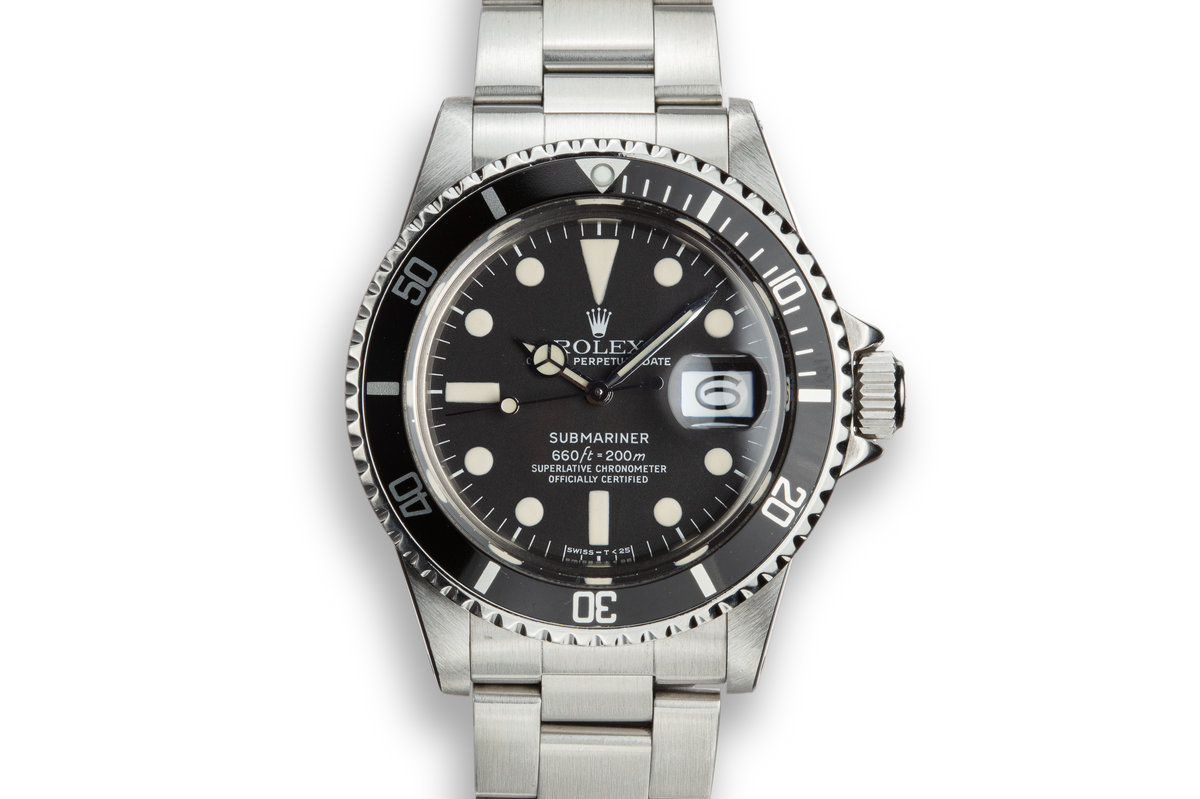 1978 Rolex Submariner 1680 with Box, Papers, and Service Papers photo, #0