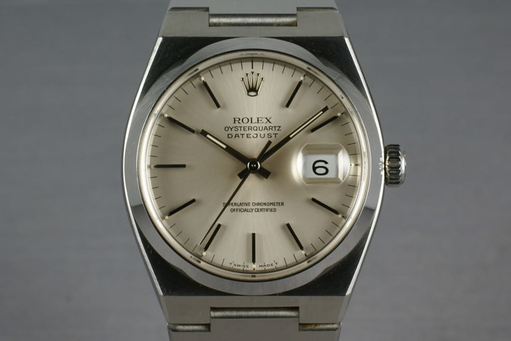 Rolex Oysterquartz Steel 17000 Unpolished photo